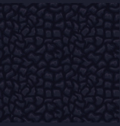 Black seamless leather texture vector