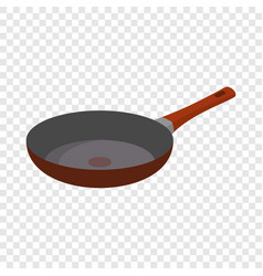 Hot griddle icon flat style vector