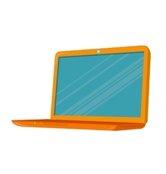 Isometric Notebook Laptop vector image vector image