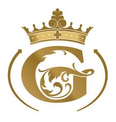 Letter g logotype vector