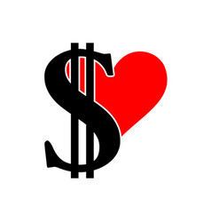 scalable with dollar sign and vector image