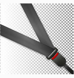seat belt icon isolated on white background vector image