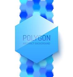 Abstract Polygonal Shape vector image vector image