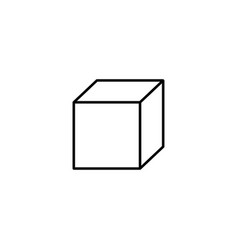 box icon vector image
