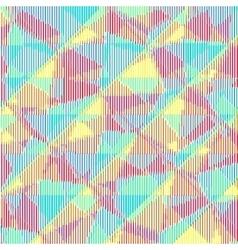 Multicolored halftone stripes texture vector image vector image