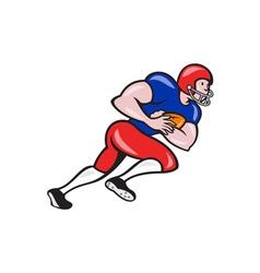 American Football Running Back Rushing vector