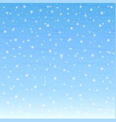 beautiful morning sky bright stars eps 10 vector image