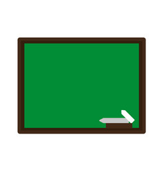 Board draw chalk vector
