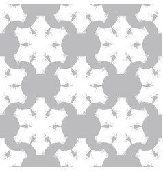 simple snowflake seamless vector image