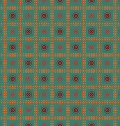 Abstract flower squares vector image vector image