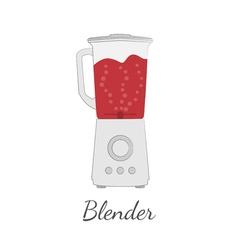Blender in flat design vector