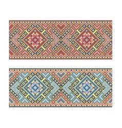 Ukrainian pattern vector image