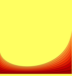 Abstract background template from curved stripes vector