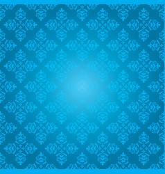 Blue vintage pattern - background vector