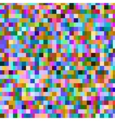 Colorful pattern with chaotic pixels vector image
