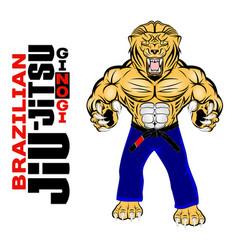 Lion bjj 0001 vector
