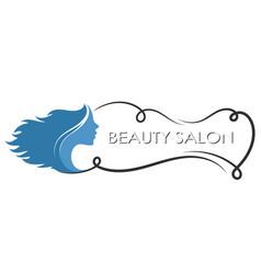 symbol of beauty salon vector image