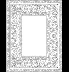 template for frame vector image