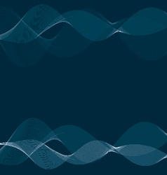 abstract blue smokey background vector image vector image