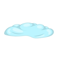 Cloud icon cartoon style vector image vector image