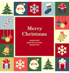 concept christmas background vector image