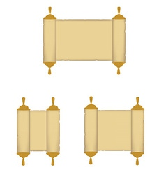 Paper roll vector image