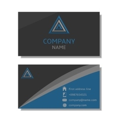 Business Brochure vector image