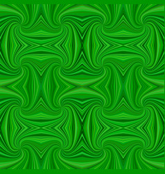 green seamless abstract psychedelic spiral ray vector image