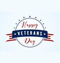 happy veterans vector image