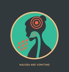 Nausea and Womiting Poster vector