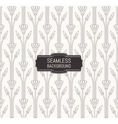 seamless modern pattern floral textur vector image
