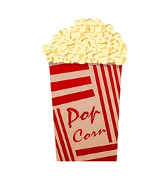 A view of a Pop Corn vector