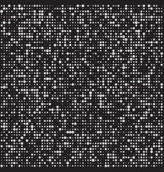abstract black and white halftone background vector image