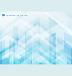 abstract technology geometric corporate arrows on vector image