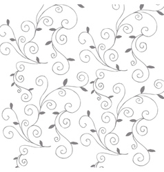 Branch and leafs elegant frame vector