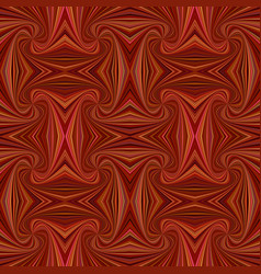 Brown seamless psychedelic abstract swirl stripe vector