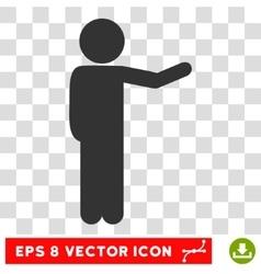 Child Show Eps Icon vector image
