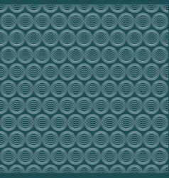 seamless pattern on dark blue background vector image