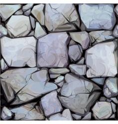 Seamless texture stones in vector