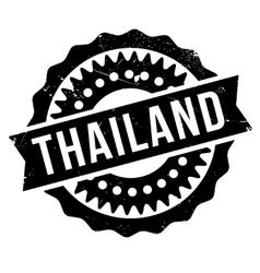 Thailand stamp rubber grunge vector