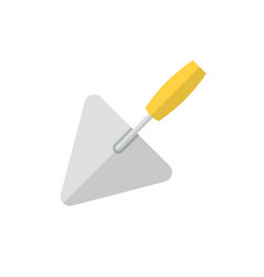 trowel flat icon vector image