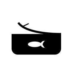 tuna icon vector image