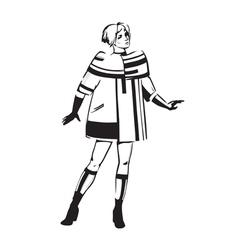Fashion show vector image