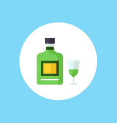 Absinthe icon sign symbol vector