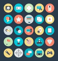 Gaming Colored Icons 4 vector