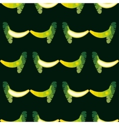 seamless banana pattern Background is on a vector image