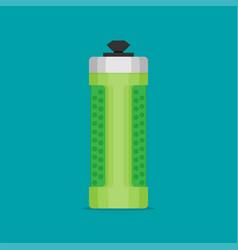 water bottle flat design - eps 10 vector image