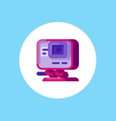 action camera icon sign symbol vector image