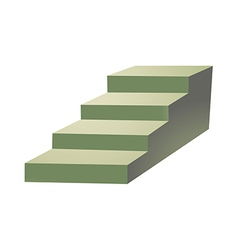 Icon stair vector