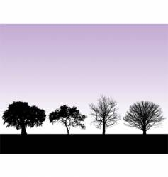 landscape graphic elements vector image